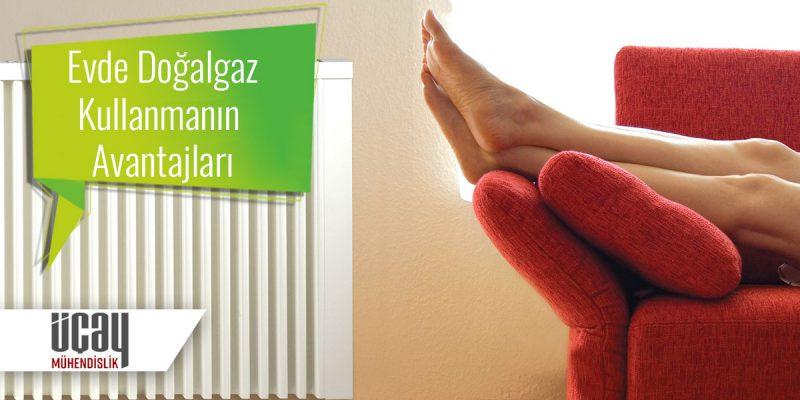 evde doğalgaz kullanmanın avantajları